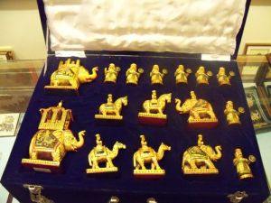 Hand Carved Chess, Udaipur
