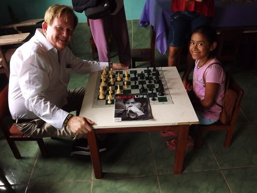Schoolhouse chess with Diane-First Moves